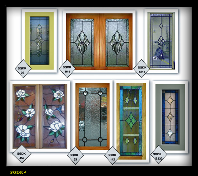 How To Make Glass Kitchen Cabinet Doors: Lead & Stain Glass Cabinet Door Inserts 2